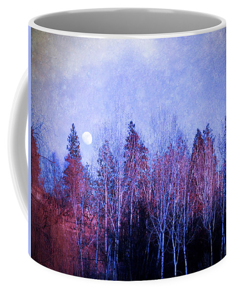 Moon Coffee Mug featuring the photograph The Colours Of The Moon by Tara Turner
