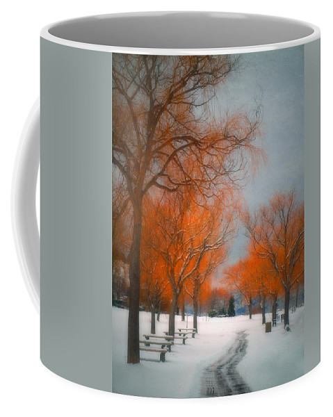 Summerland Coffee Mug featuring the photograph The Colours Of Winter by Tara Turner