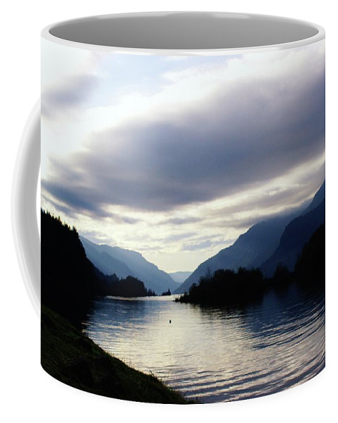 Rivers Coffee Mug featuring the photograph The Columbia River by Jeff Swan