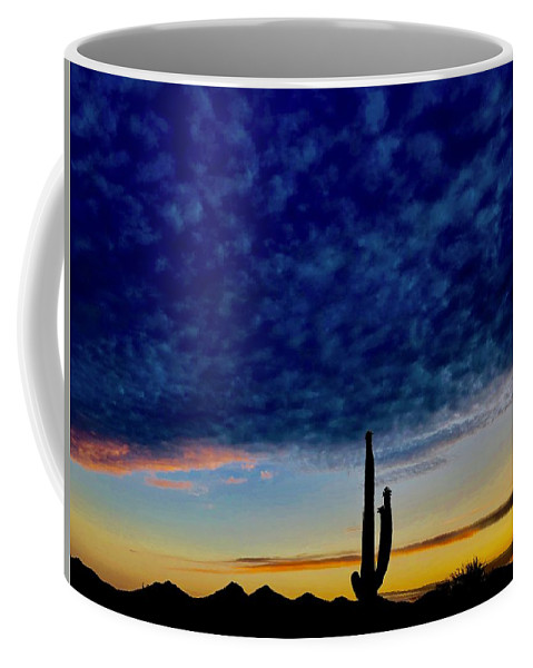 Coffee Mug featuring the photograph Courtship Of The Seven Sisters by Joy Elizabeth