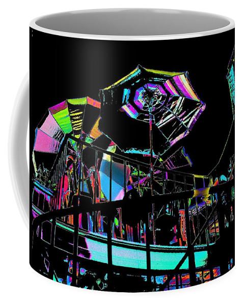 Seattle Coffee Mug featuring the digital art The Copacabana by Tim Allen