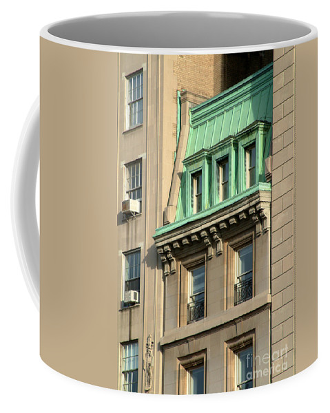 Apartments Coffee Mug featuring the photograph The Copper Attic by RC DeWinter