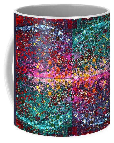 Abstract Coffee Mug featuring the photograph The Cosmos Crown Jewels 1 by Angelina Vick