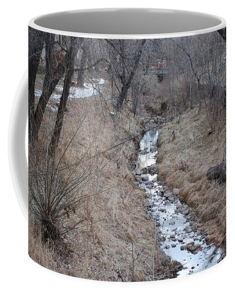 Water Coffee Mug featuring the photograph The Creek by Rob Hans