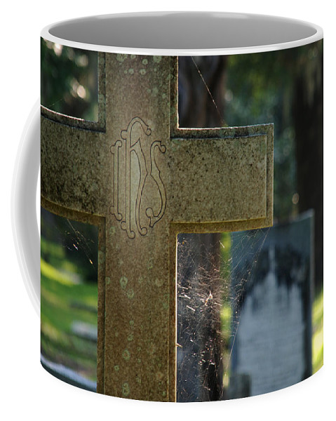 Cross Coffee Mug featuring the photograph The Cross by Susanne Van Hulst