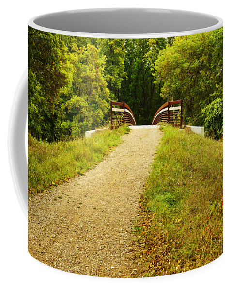 Color Coffee Mug featuring the photograph The Crossing by Donald Erickson