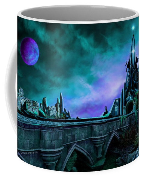 Copyright 2015 - James Christopher Hill Coffee Mug featuring the painting The Crystal Palace - Nightwish by James Christopher Hill