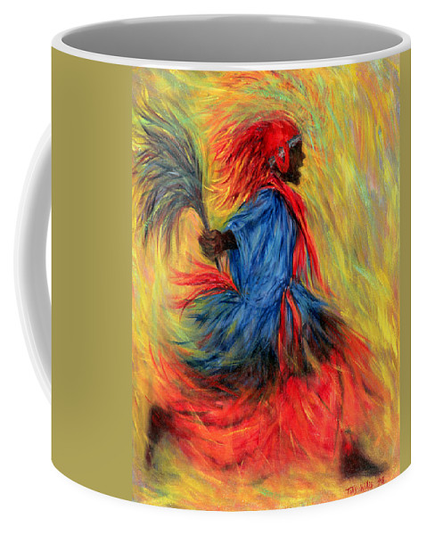 Dancer Coffee Mug featuring the painting The Dancer by Tilly Willis