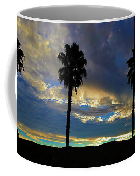 Linda Brody Coffee Mug featuring the digital art The Dawn Of A New Day 3 by Linda Brody