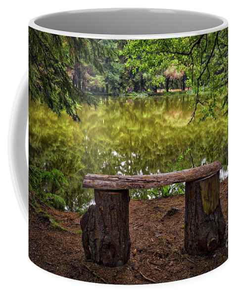 The Deep Thinker Coffee Mug featuring the photograph The Deep Thinker by Mitch Shindelbower