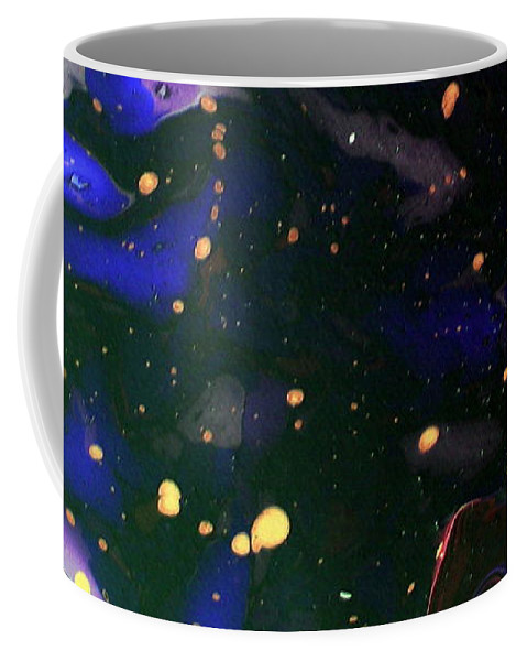 In The Deep Coffee Mug featuring the painting The Deepness by Dawn Hough Sebaugh