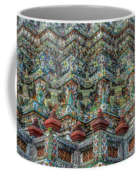 Michelle Meenawong Coffee Mug featuring the photograph The Demons Of The Temple by Michelle Meenawong