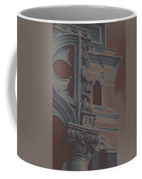 France Coffee Mug featuring the photograph The Depression by Robert Meanor