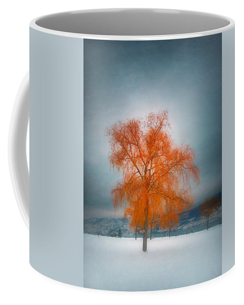 Tree Coffee Mug featuring the photograph The Dreams Of Winter by Tara Turner