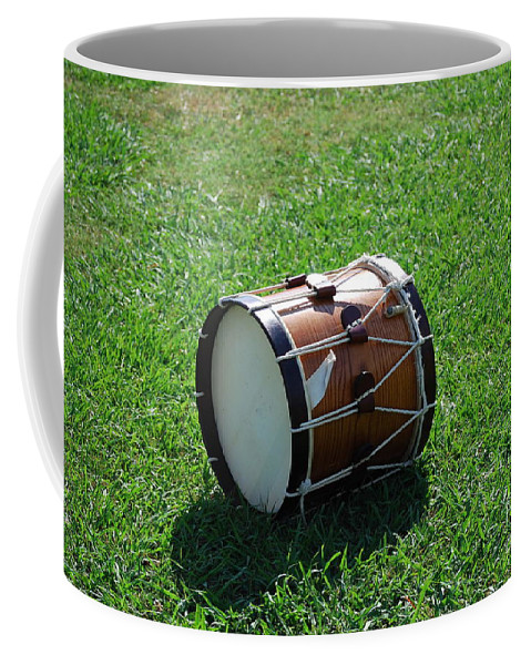 Drum Coffee Mug featuring the photograph The Drum by Eric Liller