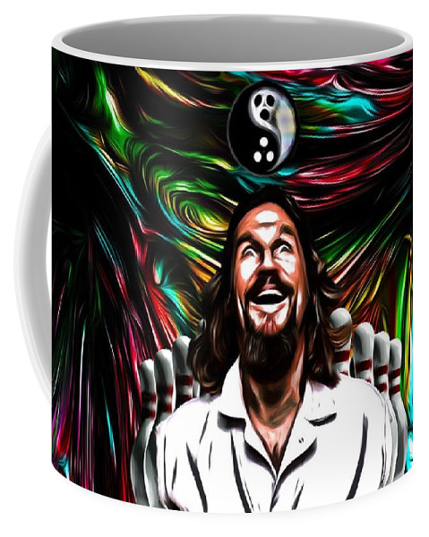 The Big Lebowski Coffee Mug featuring the photograph The Dude by Rob Hans