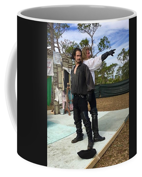 The Duelists Coffee Mug featuring the photograph The Duelists by Debra K Gallagher