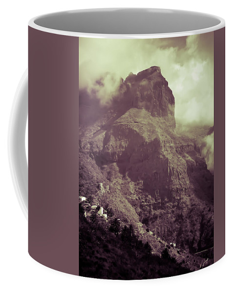 Loriental Coffee Mug featuring the photograph The Edge Of The World by Loriental Photography