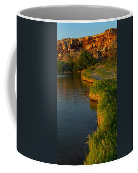 Skip Hunt Coffee Mug featuring the photograph The Edge by Skip Hunt