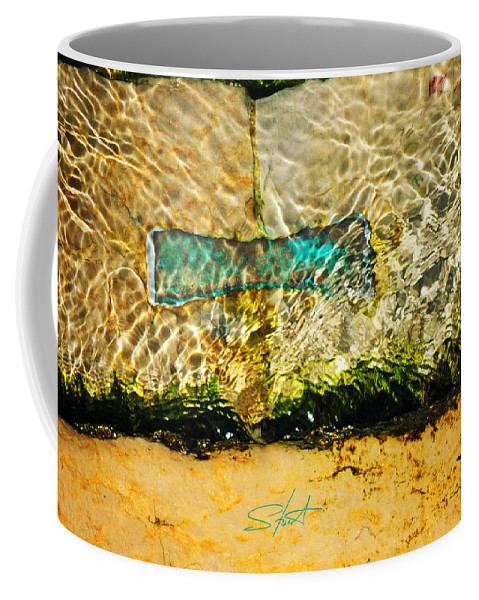 Bow Tie Coffee Mug featuring the photograph The Emerald Bow Tie by Charles Stuart
