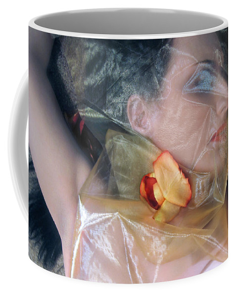 Jaeda Dewalt Coffee Mug featuring the photograph The Emotional Snag - Self Portrait by Jaeda DeWalt