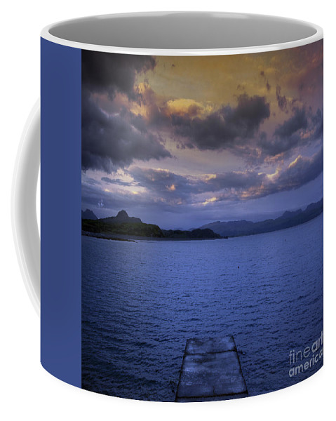 Platform Coffee Mug featuring the photograph The End Of The Road by Angel Tarantella