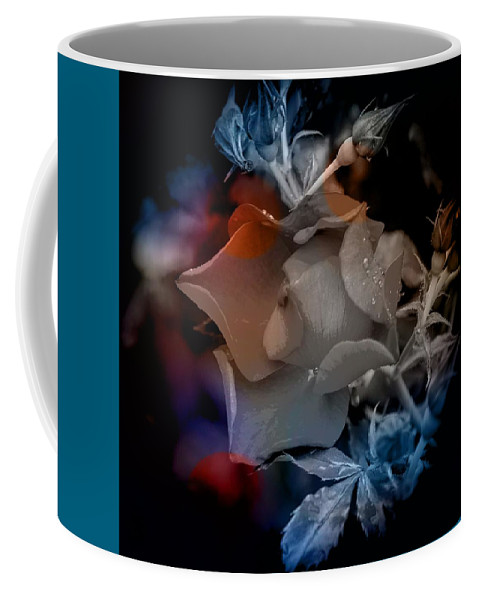 Colorful Coffee Mug featuring the photograph English Rose At Dawn by Thom Zehrfeld