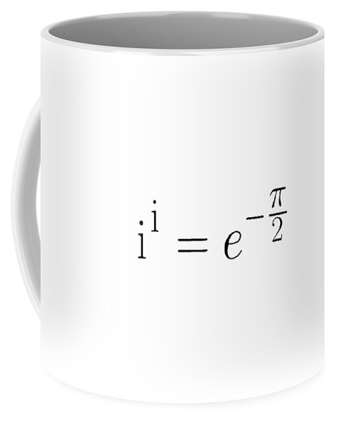 Math Coffee Mug featuring the digital art The Equation by Piece of Infinity