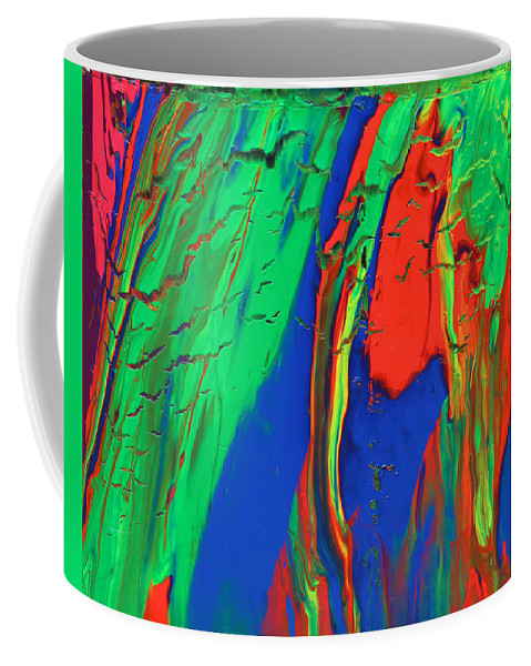 Fusionart Coffee Mug featuring the painting The Escape by Ralph White