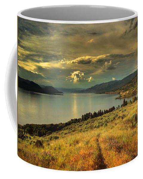 Lake Coffee Mug featuring the photograph The Evening Calm by Tara Turner