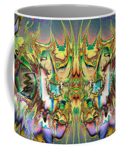 The Event Coffee Mug featuring the digital art The Event by Kiki Art