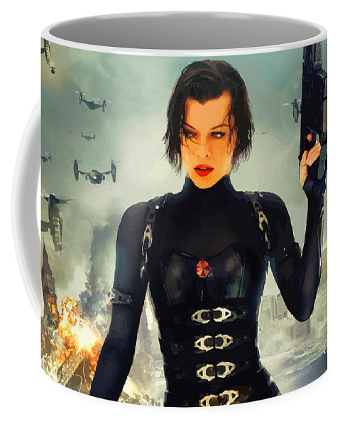 Comics Coffee Mug featuring the digital art The Evolution Of Project Alice by Don Kuing