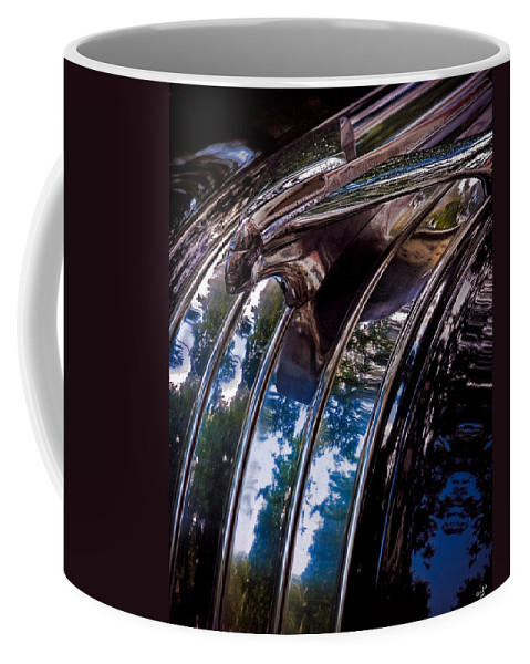 Automobile Coffee Mug featuring the photograph The Face Of Pontiac by Chris Lord