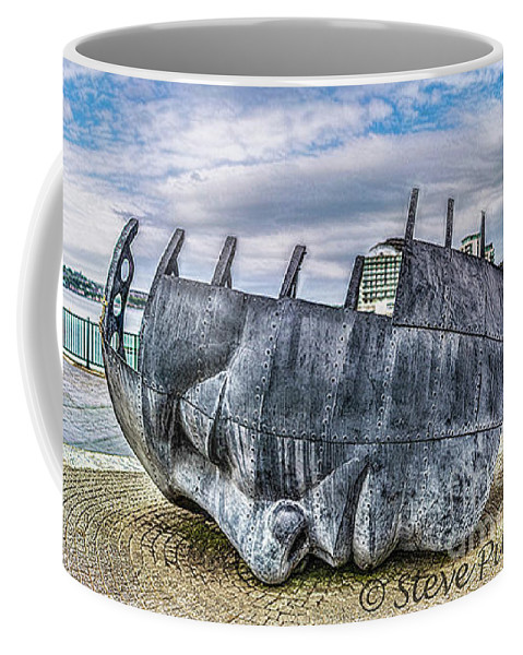 Brenizer Method Brenizer Coffee Mug featuring the photograph The Face Of The Bay by Steve Purnell