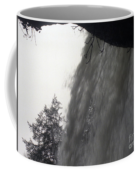 Waterfalls Coffee Mug featuring the photograph The Falls by Richard Rizzo