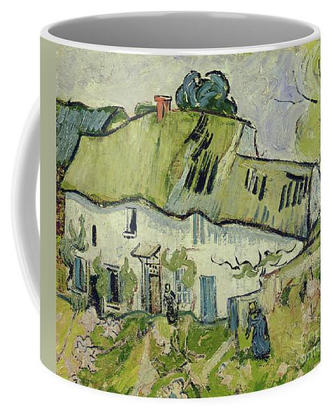The Farm In Summer Coffee Mug featuring the painting The Farm In Summer by Vincent van Gogh