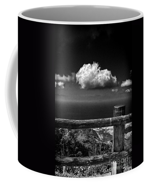 Fence Coffee Mug featuring the photograph The Fence by Silvia Ganora