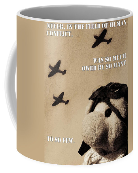 Ww2 Coffee Mug featuring the photograph The Few by Piggy