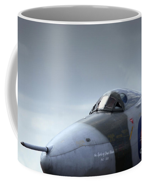 Avro Vulcan Coffee Mug featuring the photograph The Fifty Year Old Lady by Angel Ciesniarska