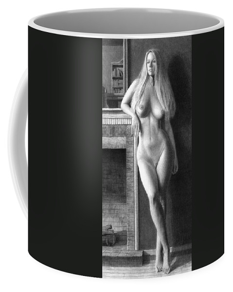 Muse Coffee Mug featuring the painting The Fire Within Prints Only by Joseph Ogle