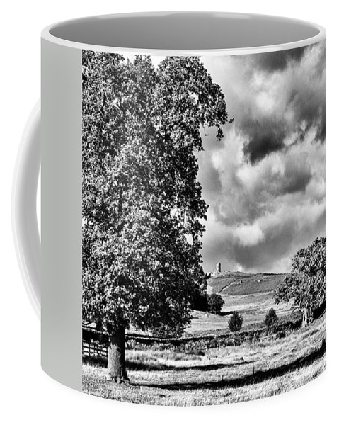 Parkland Coffee Mug featuring the photograph Old John Bradgate Park by John Edwards