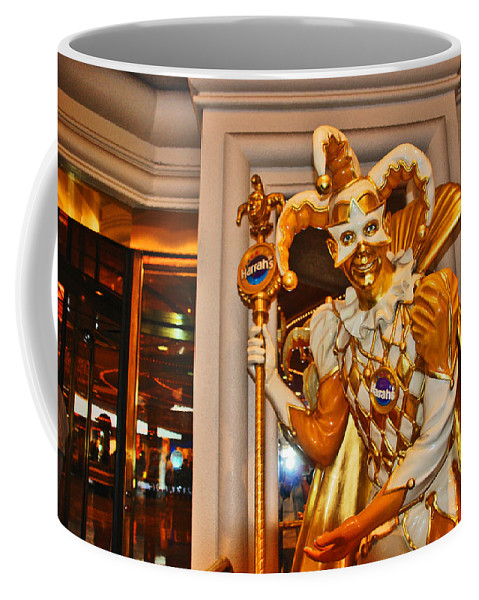 Photography Coffee Mug featuring the photograph The Fool by Susanne Van Hulst