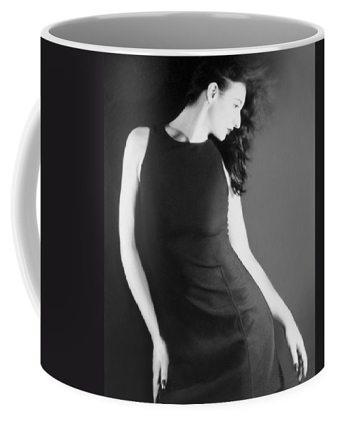 Beautiful Coffee Mug featuring the photograph The Freeze - Self Portrait by Jaeda DeWalt