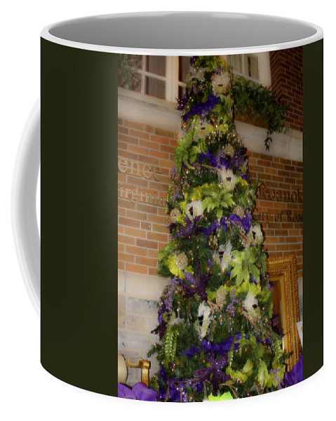 Christmas Coffee Mug featuring the photograph The French Thistle Tree Fashions For Evergreens Hotel Roanoke 2009 by Teresa Mucha