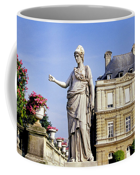 Garden Coffee Mug featuring the photograph The Gardens Of Luxembourg Palace, Paris by Buddy Mays