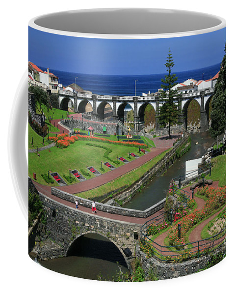 Park Coffee Mug featuring the photograph The Gardens Of Ribeira Grande by Gaspar Avila