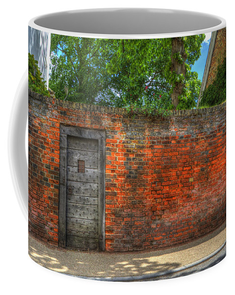 Northgate Coffee Mug featuring the digital art The Gate by Nigel Bangert