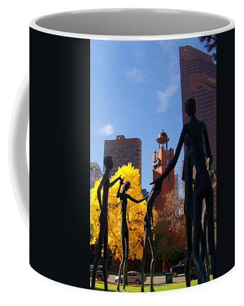 People Coffee Mug featuring the photograph The Gathering by Greg Hammond