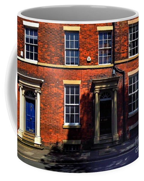 Georgian Terraces Coffee Mug featuring the photograph The Georgian Terraces At Riversdale Place 2 by Joan-Violet Stretch