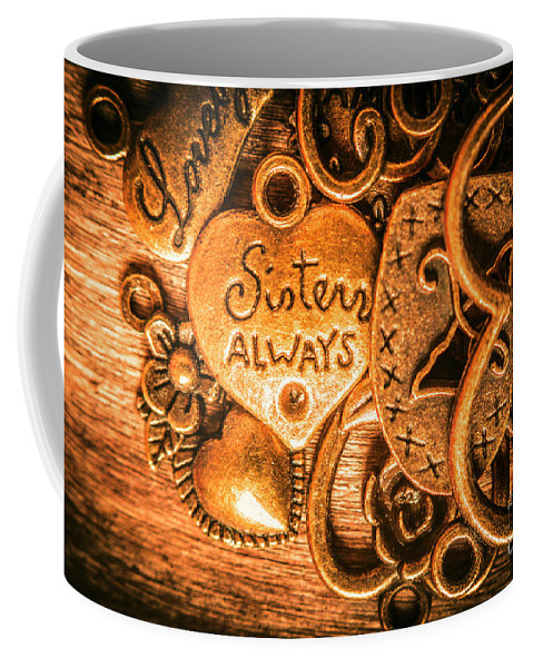 Family Coffee Mug featuring the photograph The Gift Of A Sister by Jorgo Photography - Wall Art Gallery